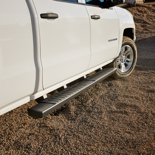 2016 Sierra 2500 Assist Steps, 6 inch Oval, Double Cab, Black