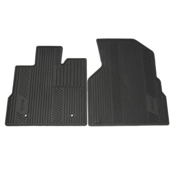 2015 Terrain Floor Mats Front Premium All Weather GMC Logo, Black