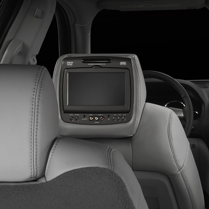 RSE - Headrest DVD System, Dual System - Light Cashmere (312, 313, 392