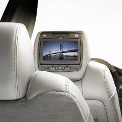 RSE - Headrest DVD System, Dual System - Cloth, Light Titanium (84C)