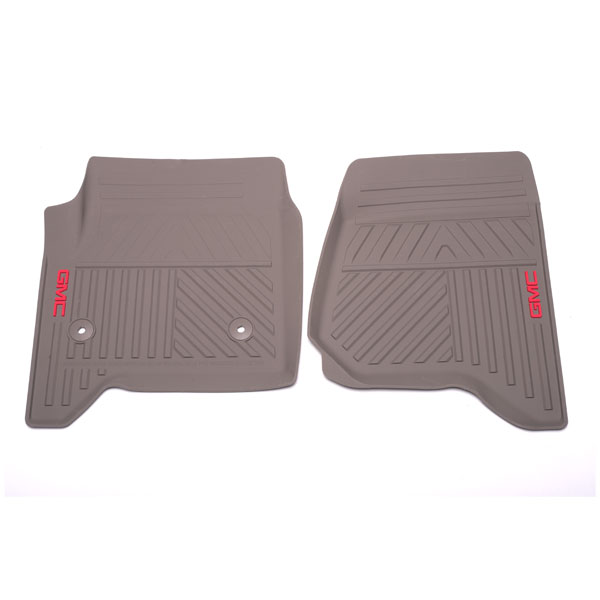 2014 Sierra 1500 Front Floor Mats, Premium All Weather, Dune