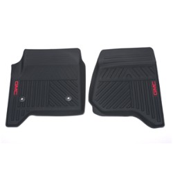 2014 Sierra 1500 Front Floor Mats, Premium All Weather, Ebony