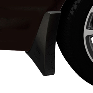 2015 Verano Splash Guards, Front Molded, Carbon Black Metallic (GAR)
