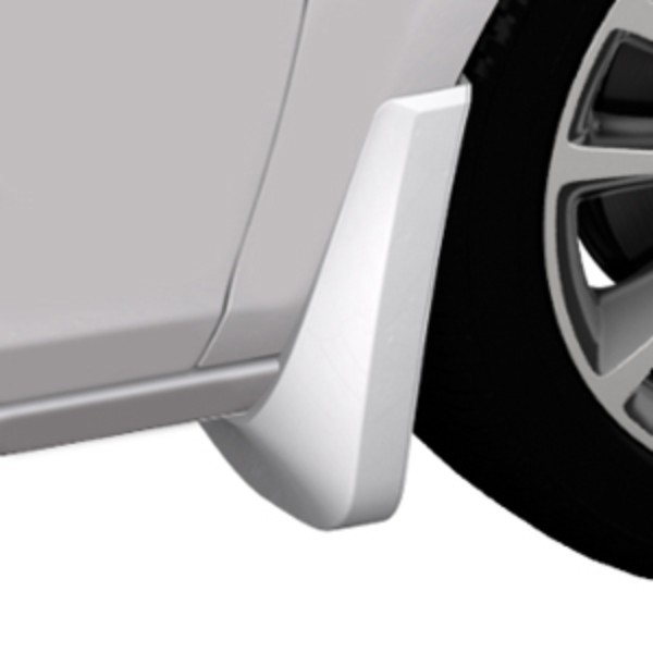 2015 Verano Splash Guards, Front Molded, Summit White (GAZ)