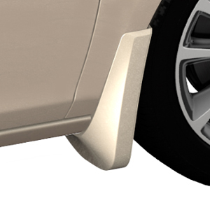 2015 Verano Splash Guards, Front Molded, White Diamond Tricoat (GBN)