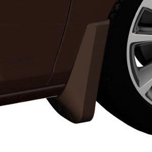 2015 Verano Splash Guards, Front Molded, Mocha Bronze Metallic (GVU)