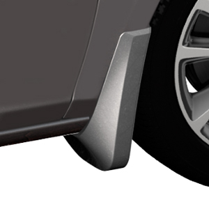 2015 Verano Splash Guards, Front Molded, Quicksilver Metallic (GAN)