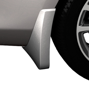2015 Verano Splash Guards, Rear Molded, Quicksilver Metallic (GAN)