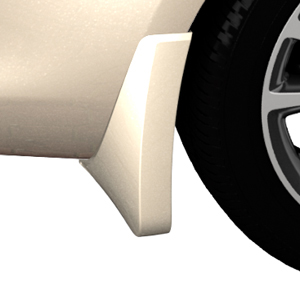 2015 Verano Splash Guards, Rear Molded, White Diamond Tricoat (GBN)
