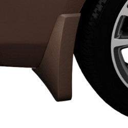 2015 Verano Splash Guards, Rear Molded, Mocha Bronze Metallic (GVU)