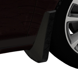 2015 Verano Splash Guards, Rear Molded, Carbon Black Metallic (GAR)