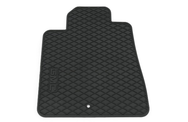 2014 Acadia Floor Mats Front Premium All Weather, GMC Logo, Titanium