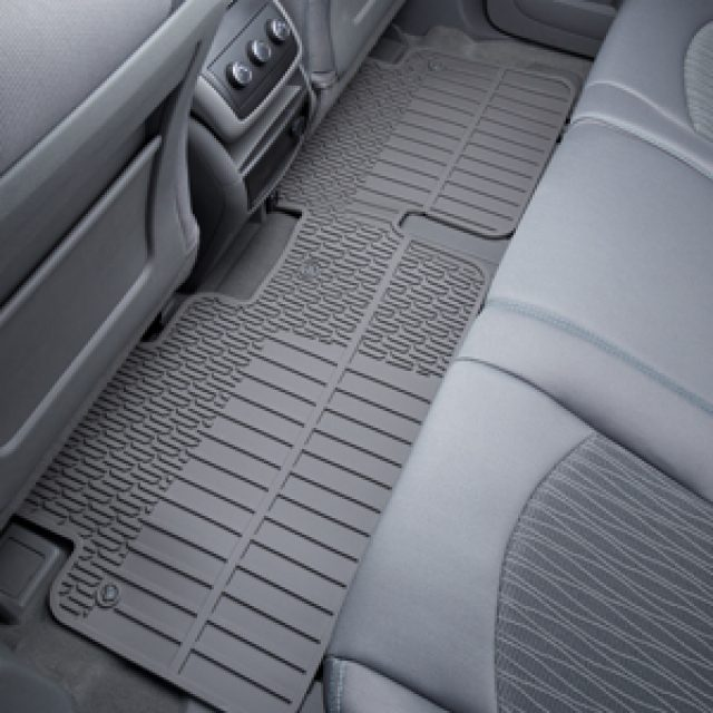 2017 Enclave Floor Mat - Rear Premium All Weather - 2nd Row - Fo