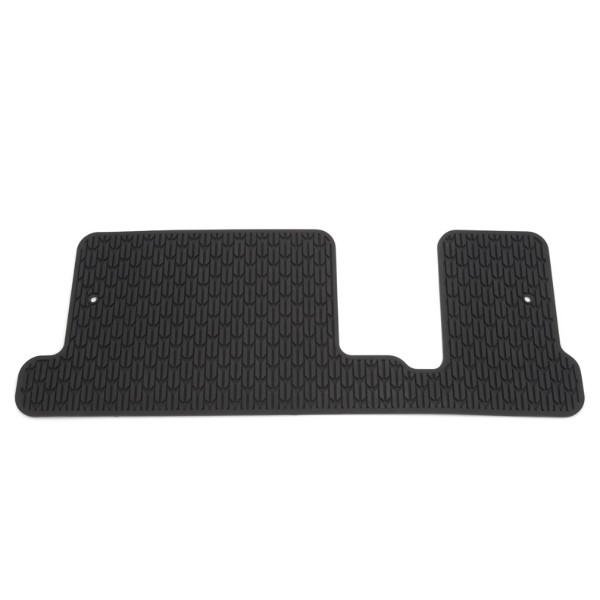 2015 Acadia Denali Floor Mat - Third Row Premium All Weather - Folding Split Back Bench (AM9), Ebony