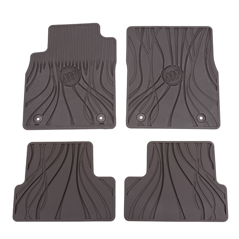 2016 Buick Verano Front and Rear Premium All Weather Floor Mats, Cocoa