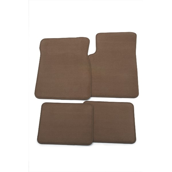 2016 Buick Verano Floor Mats, Front and Rear Carpet Replacements, Cocoa