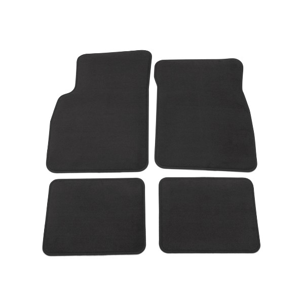 2016 Buick Verano Floor Mats, Front and Rear Carpet Replacements, Black