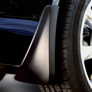 2016 Buick Regal Splash Guards, Rear Molded, Black