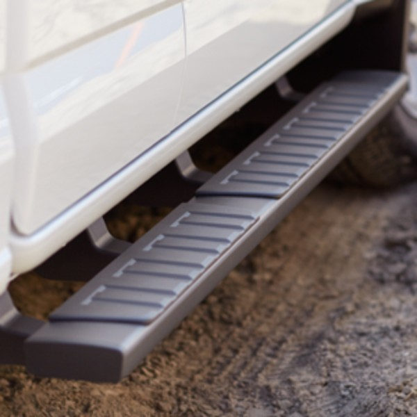 2015 Canyon Assist Steps, 5 inch Rectangular, Black Extended Cab