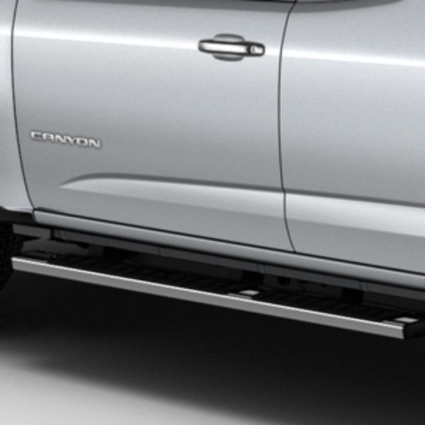 2015 Canyon Assist Steps, 5inch Rectangular, Chrome Extended Cab