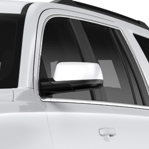 2017 Yukon Outside Mirror Covers, Chrome