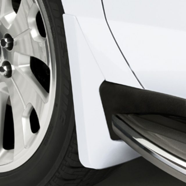 2016 Yukon XL Splash Guards Front Molded, Summit White