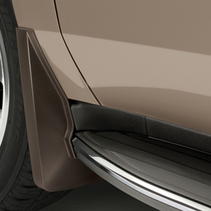 2016 Yukon Denali XL Splash Guards Front Molded, Subterranean Metallic