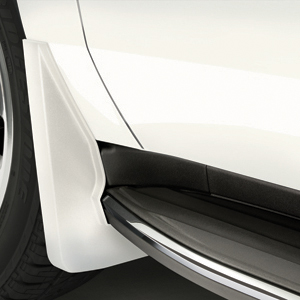 2015 Yukon Denali XL Splash Guards Front Molded, White Diamond