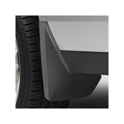 2016 Yukon XL Splash Guards Rear Molded, Black Grain