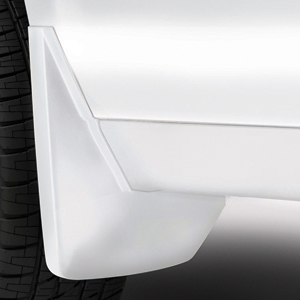 2016 Yukon XL Splash Guards Rear Molded, Summit White