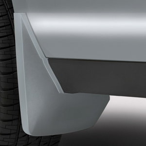 2016 Yukon XL Splash Guards Rear Molded, Switchblade Silver