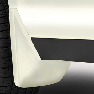 2015 Yukon Denali XL Splash Guards Rear Molded, White Diamond