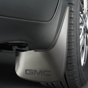 2014 Acadia Splash Guards - Rear Molded, Black