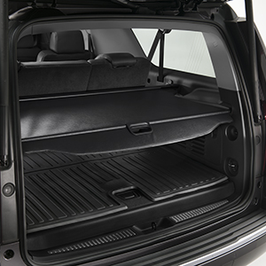 2016 Yukon Denali XL Cargo Security Shade, Black