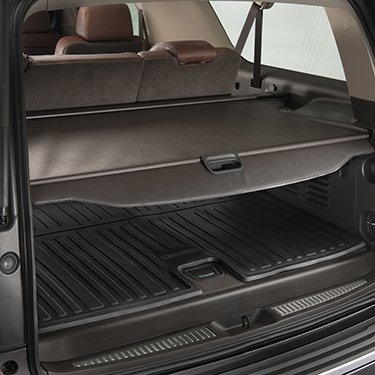 2015 Yukon Denali Cargo Security Shade Cocoa