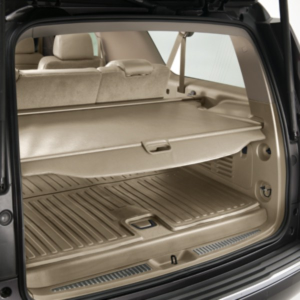 2015 Yukon Cargo Security Shade, Dune, ShopGMCParts.com