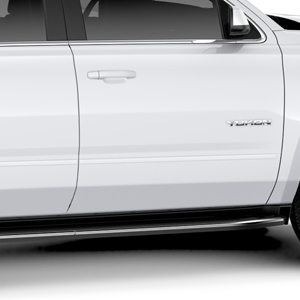 2018 Yukon Bodyside Molding Package, Summit White