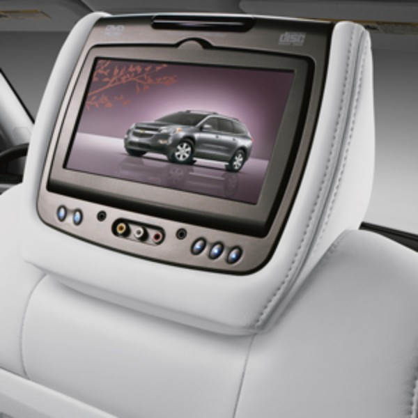 2014 Acadia DVD Headrest System, Titanium, Leather