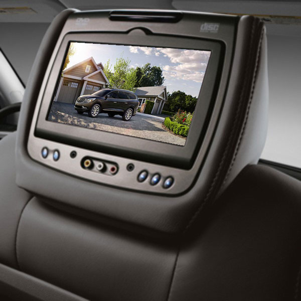 2014 Enclave DVD Headrest System, Ebony, Leather