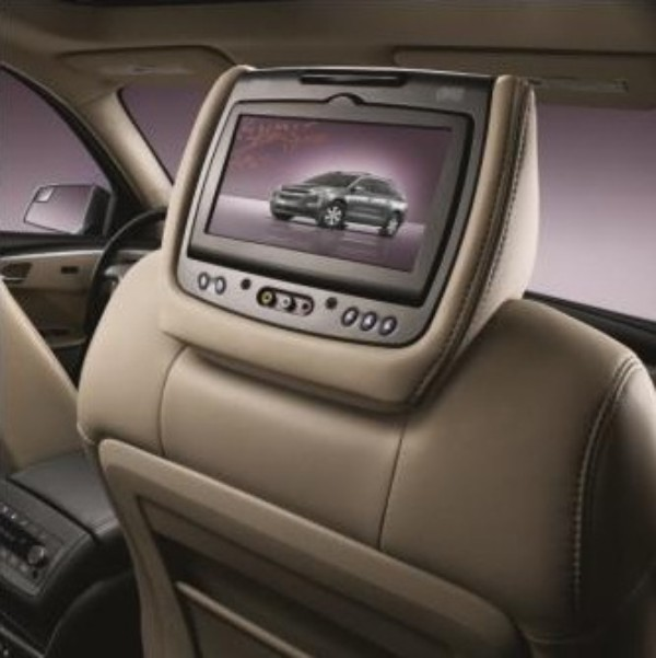 2014 Acadia DVD Headrest System, Dune (653), Leather