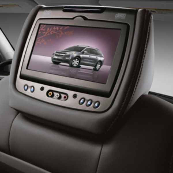 2014 Acadia DVD Headrest System, Ebony (19C), Cloth
