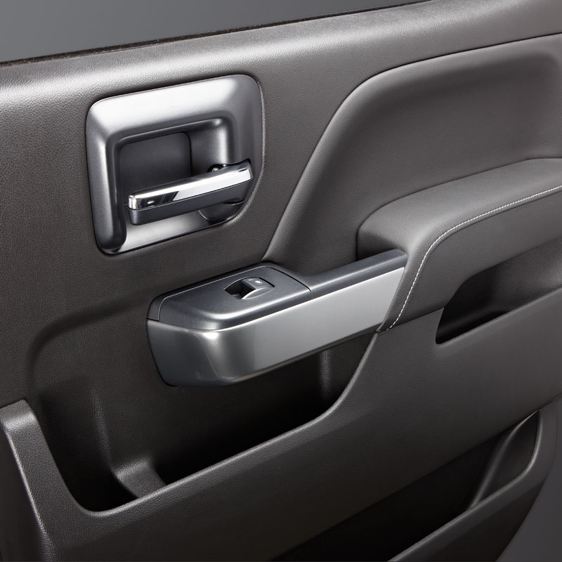 2015 Sierra 3500 Interior Trim Kit, Double Cab, Synthesis
