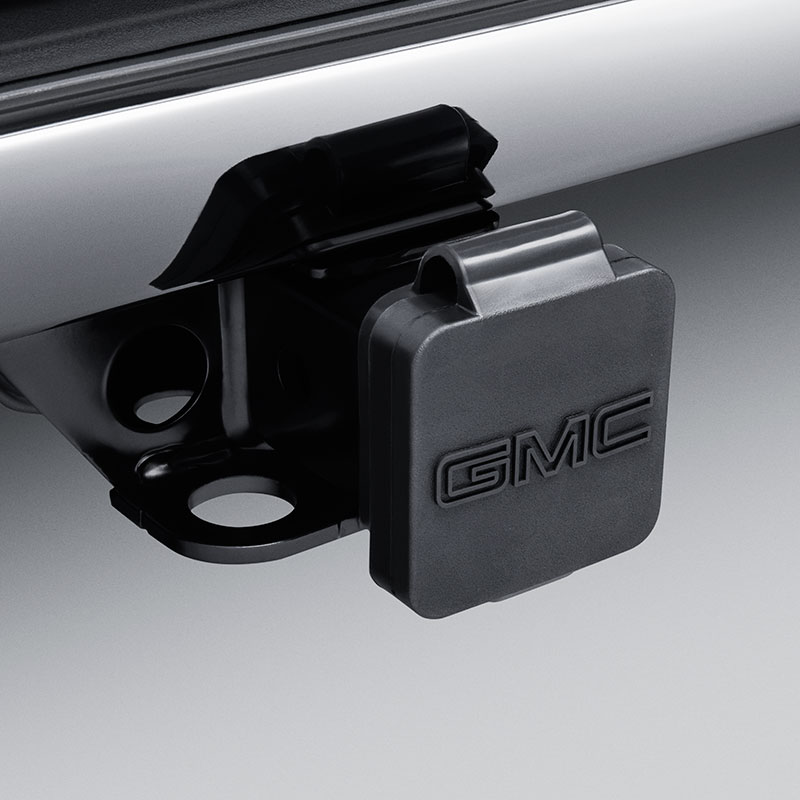 2018 Yukon Trailer Hitch Cover - GMC