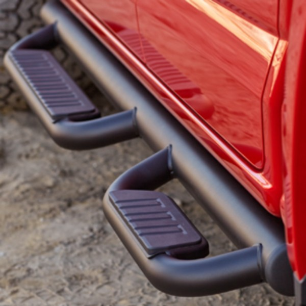 2016 Sierra 1500 Off Road Step Bars, Crew Cab, Black