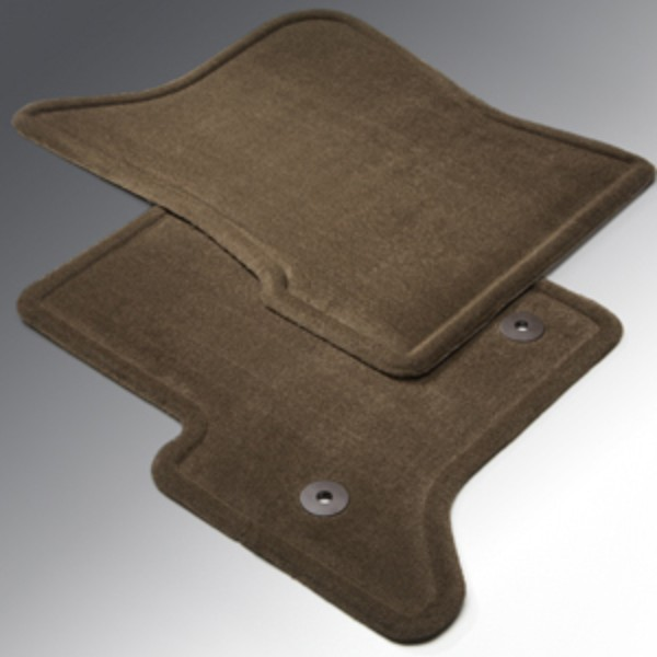 2014 Sierra 1500 Floor Mats Front Molded Carpet, Cocoa