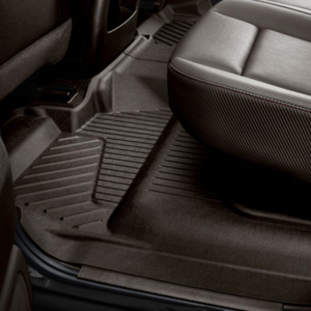2017 Sierra 2500 Premium All Weather Floor Liners Crew Cab Rear, Co