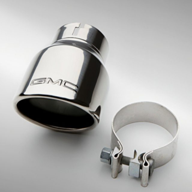2015 Canyon Exhaust Tip, GMC Logo, 3.6L Engine