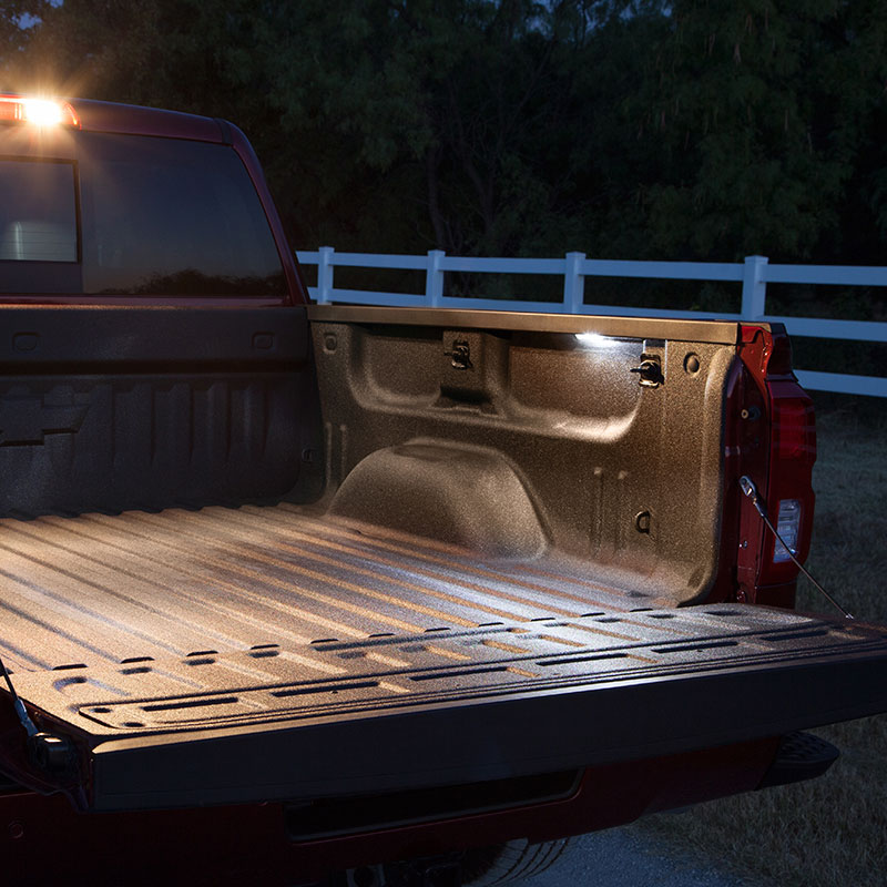 2017 Sierra 2500 Perimeter Bed Lighting