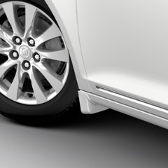 2014 Lacrosse Splash Guards, Front Molded, Summit White