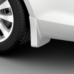 2015 LaCrosse Rear Molded Splash Guard, Summit White